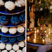 Blue and White Wedding Cupcake Display at Ann Norton Sculpture Garden in Palm Beach, FL thumbnail