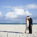 Gorgeous Bridal Portrait on the Beach at Villas Mar Azure in Ponce, PR thumbnail