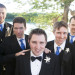 Handsome Groomsmen with Elegant Starfish Boutineers at Villas Mar Azure in Ponce, PR thumbnail