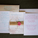 Rustic Coral and Burlap Wedding Invitations at Palm Beach Shores Community Center in Palm Beach, FL thumbnail
