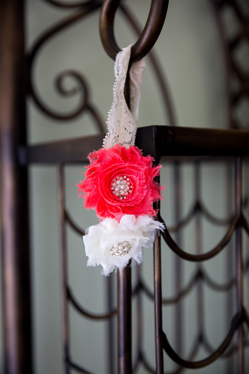 Rustic Flower and Lace Garter | The Majestic Vision Wedding Planning | Palm Beach Shores Community Center in Palm Beach, FL | www.themajesticvision.com | Chris Kruger Photography