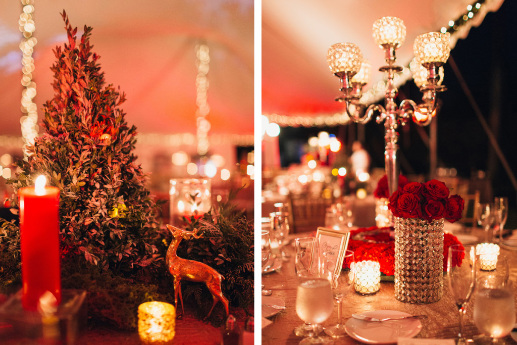 Elegant Christmas Themed Wedding | The Majestic Vision Wedding Planning | Fairchild Tropical Garden in Coral Gables, FL | www.themajesticvision.com | Robert Madrid Photography
