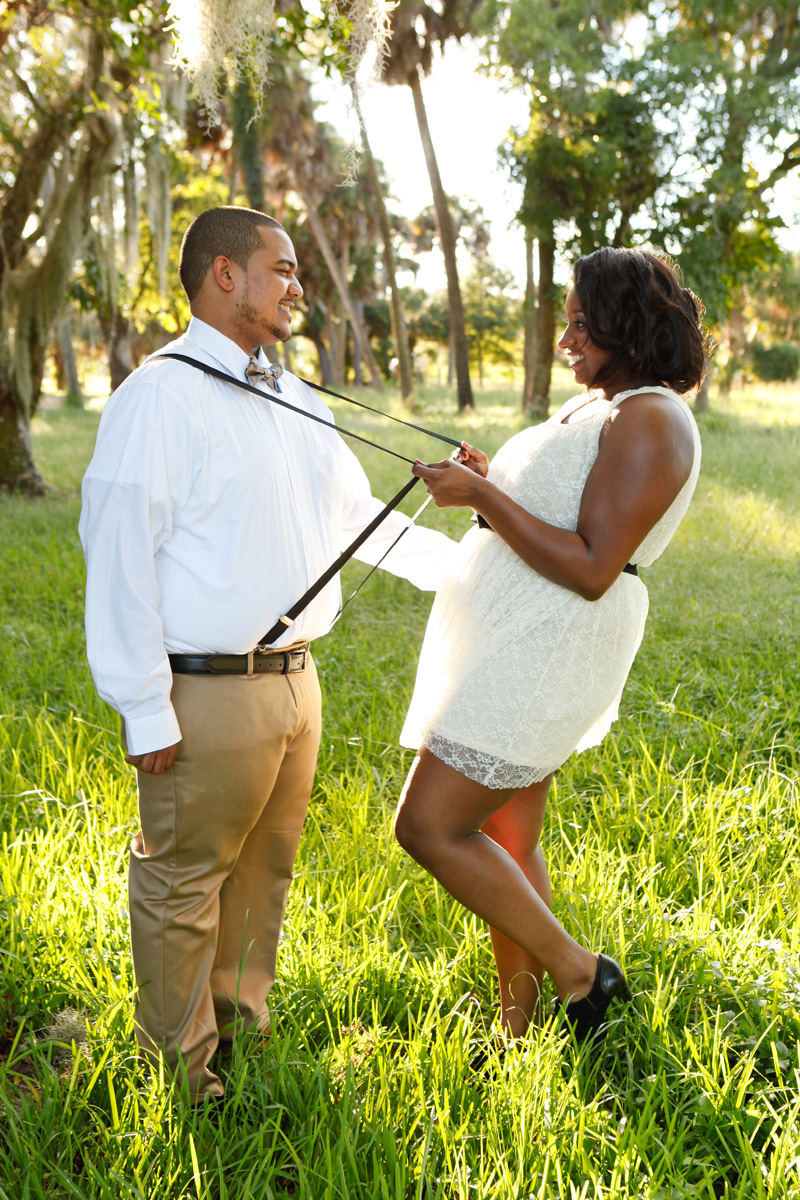 Playful Engagement Session | The Majestic Vision Wedding Planning | Riverbend Park in Palm Beach, FL | www.themajesticvision.com | Krystal Zaskey Photography