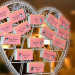 Pink and Green Disney Side Party Escort Cards in Palm Beach, FL thumbnail