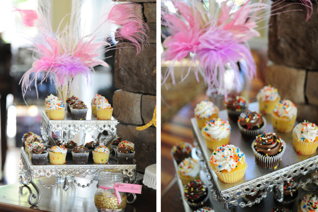 Pink and Purple Disney Side Party Dessert Display | The Majestic Vision Wedding Planning | Palm Beach, FL | www.themajesticvision.com | Emily Allongo Photography