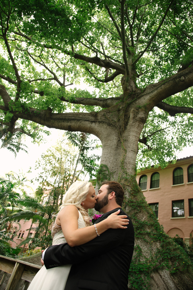 Breathtaking Bridal Portrait Under Banyan Tree | The Majestic Vision Wedding Planning | The Addison Boca in Palm Beach, FL | www.themajesticvision.com | Starfish Studios