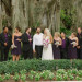 Elegant Bridal Party Portrait Under Banyan Tree at The Addison Boca in Palm Beach, FL thumbnail