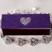 Gorgeous Diamond Braclet with Purple Match Box at The Addison Boca in Palm Beach, FL thumbnail