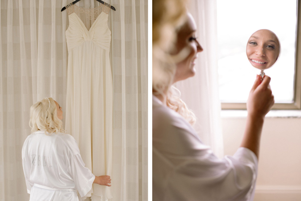 Elegant Bride Getting Ready | The Majestic Vision Wedding Planning | The Addison Boca in Palm Beach, FL | www.themajesticvision.com | Starfish Studios