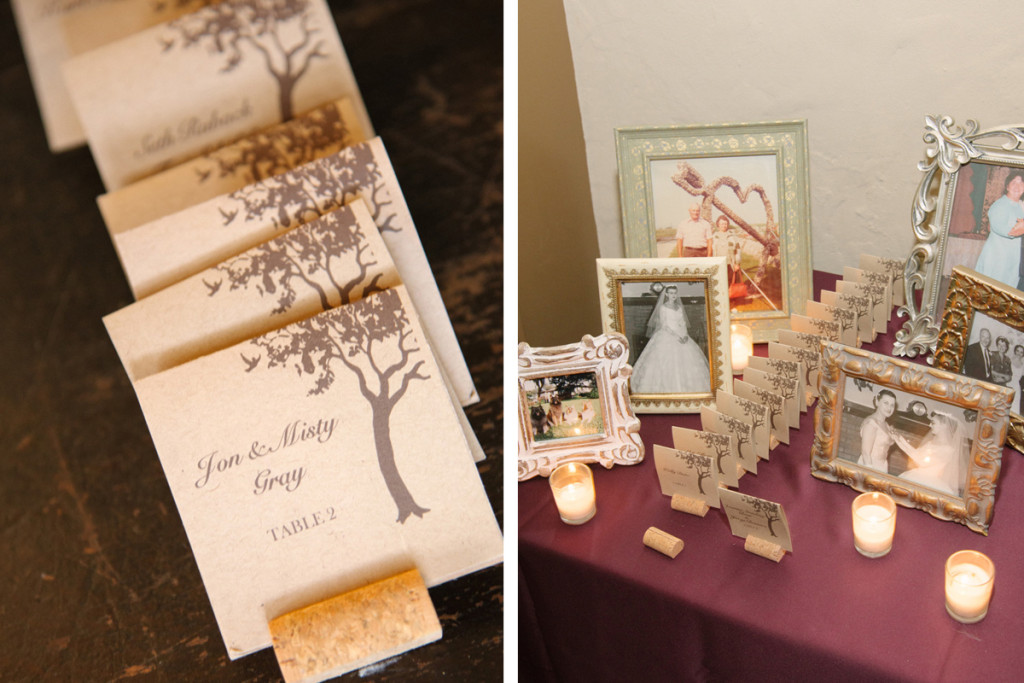 Elegant Rustic Escort Card | The Majestic Vision Wedding Planning | The Addison Boca in Palm Beach, FL | www.themajesticvision.com | Starfish Studios