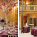 Elegant Centerpiece with Silver Manzanita Tree and Purple Orchids at The Addison Boca in Palm Beach, FL thumbnail