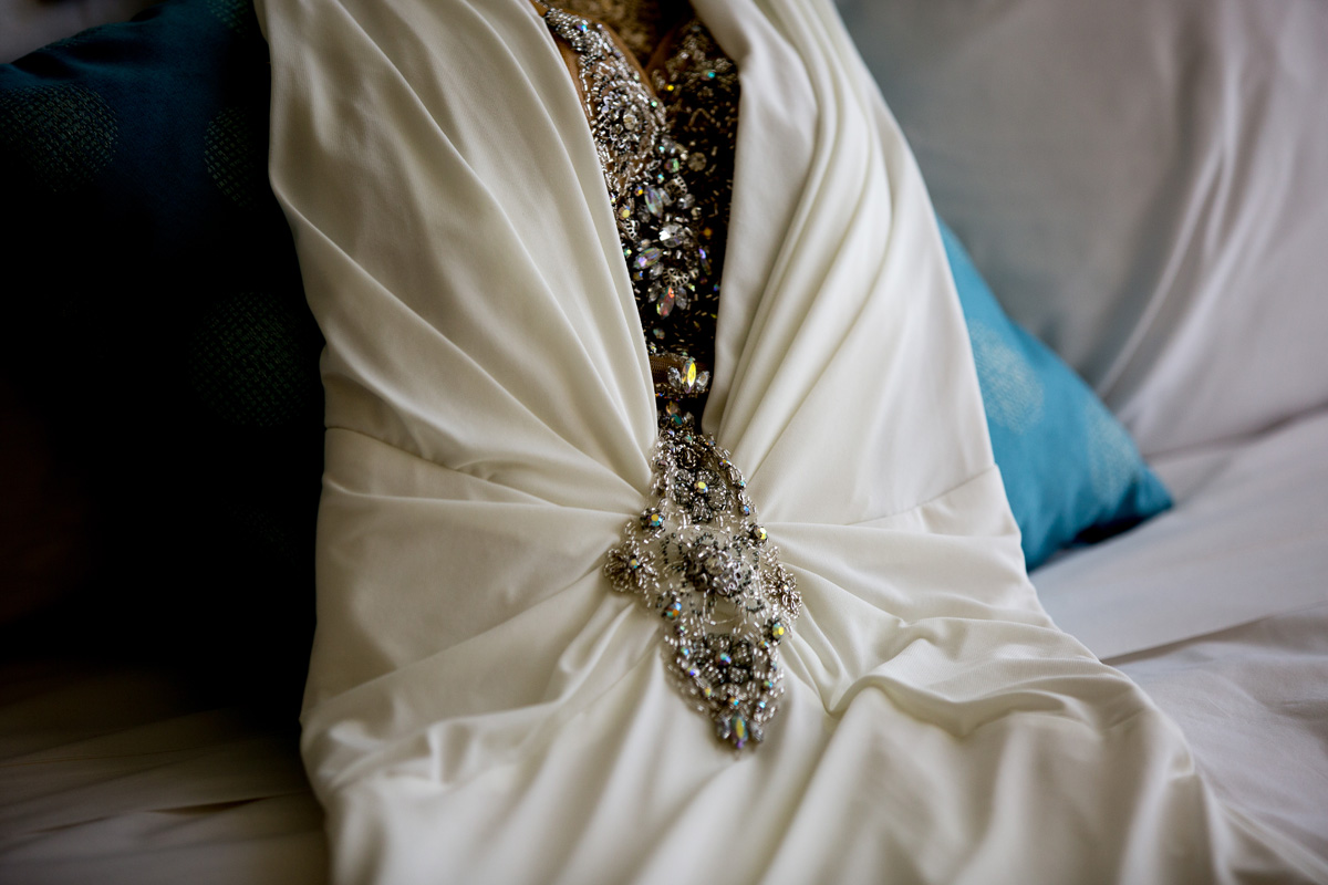 Stunning Bridal Gown | The Majestic Vision Wedding Planning | Hilton Singer Island in Palm Beach, FL | www.themajesticvision.com | Michael Sterling Photography
