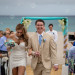 Elegant Beach Wedding Ceremony with Blue and White Orchids at Hilton Singer Island in Palm Beach, FL thumbnail