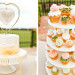 Delicious Floral Wedding Cupcake Tower at International Polo Club in Palm Beach, FL thumbnail