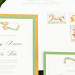 Elegant Gold Glitter Wedding Invitations at International Polo Club in Palm Beach, FL thumbnail