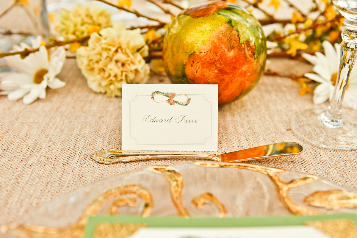 Unique Infinity Symbol Escort Card | The Majestic Vision Wedding Planning | International Polo Club in Palm Beach, FL | www.themajesticvision.com | Krystal Zaskey Photography