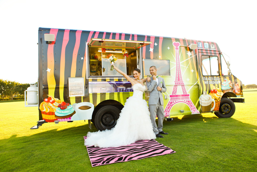 Fun Wedding Cupcake Truck | The Majestic Vision Wedding Planning | International Polo Club in Palm Beach, FL | www.themajesticvision.com | Krystal Zaskey Photography
