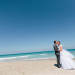 Elegant Bridal Portrait on the Beach at Marriott Singer Island in Palm Beach, FL thumbnail