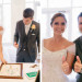 Elegant Pink, Orange and Green Thumbprint Tree Guestbook at Marriott Singer Island in Palm Beach, FL thumbnail