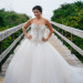 Stunning Pnina Tornai Bridal Gown at Sailfish Marina in Palm Beach, FL thumbnail