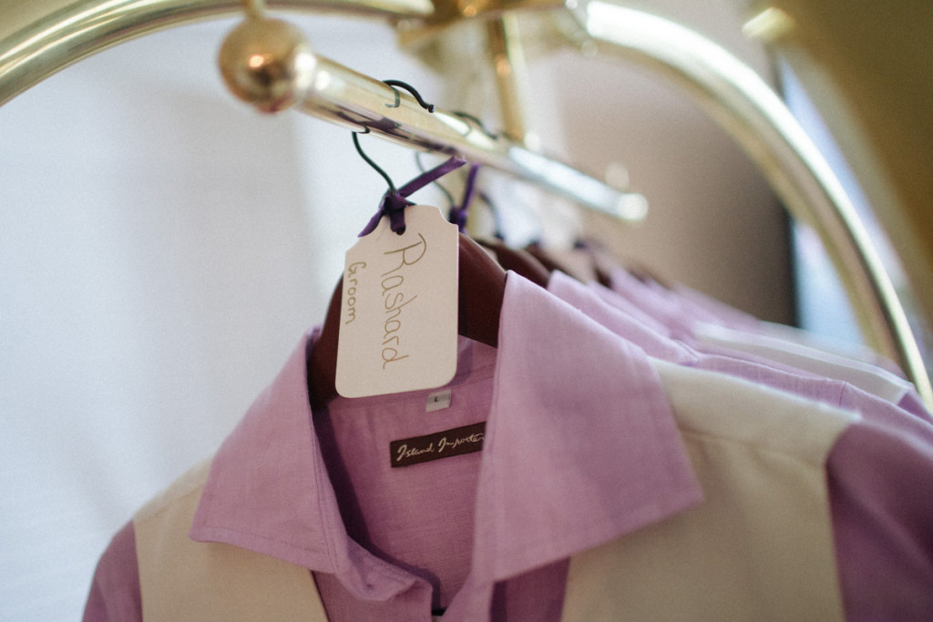 Fun Personalized Hanger for Groom   The Majestic Vision Wedding Planning   Sailfish Marina in Palm Beach, FL   www.themajesticvision.com   Robert Madrid Photography