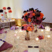 Elegant Centerpiece with Purple Roses, Coral Roses and Calla Lillies at Sailfish Marina in Palm Beach, FL thumbnail