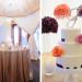 Elegant Wedding Cake with Purple Roses and Coral Roses at Sailfish Marina in Palm Beach, FL thumbnail