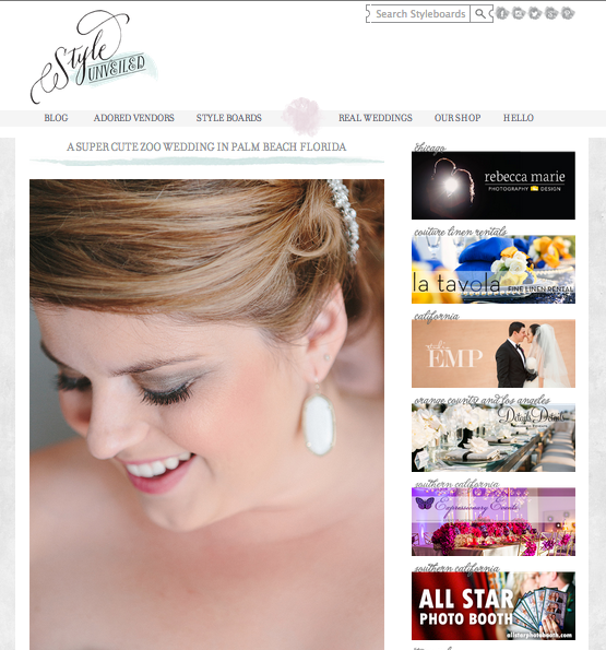 Elegant Zoo Wedding Featured on StyleUnveiled | The Majestic Vision Wedding Planning | Palm Beach Zoo in Palm Beach, FL | www.themajesticvision.com | Robert Madrid Photography