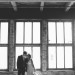 Elegant Bridal Portrait with Brick Background at Pritzlaff Building in Milwaukee, WI thumbnail
