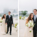 Elegant Bridal Portrait with Milwaukee Art Museum Background at Pritzlaff Building in Milwaukee, WI thumbnail