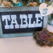 Elegant Table Number with Succulent at Sailfish Marina in Palm Beach, FL thumbnail
