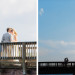 Stunning Bridal Portrait on the Dock at Sailfish Marina in Palm Beach, FL thumbnail