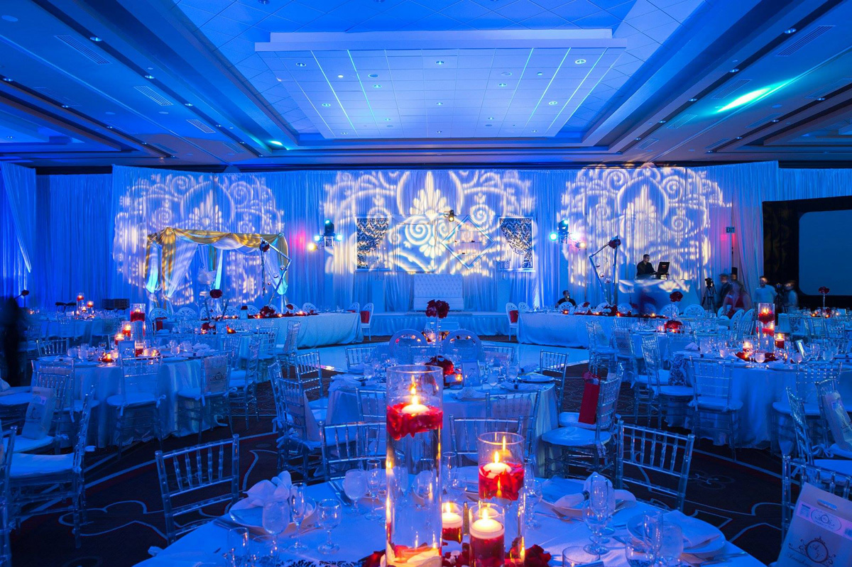 Elegant Indian Wedding Reception | The Majestic Vision Wedding Planning | PGA National in Palm Beach, FL | www.themajesticvision.com | Haring Photography