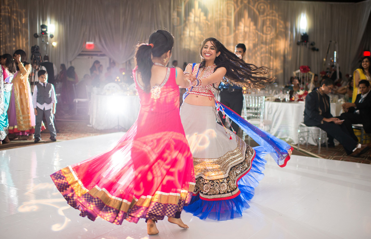 Elegant Bridesmaid Dance Performance for Indian Wedding Reception | The Majestic Vision Wedding Planning | PGA National in Palm Beach, FL | www.themajesticvision.com | Haring Photography