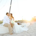 Elegant Bridal Portrait on the Beach at Palm Beach Shore in Palm Beach, FL thumbnail