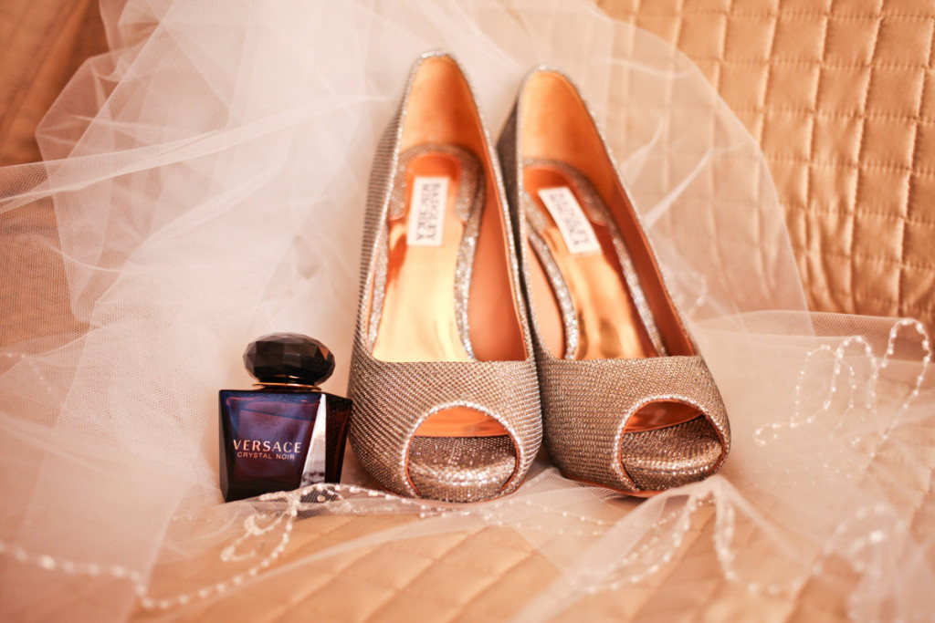 Elegant Badgley Mischka Bridal Shoes | The Majestic Vision Wedding Planning | Palm Beach Shores in Palm Beach, FL | www.themajesticvision.com | Krystal Zaskey Photography