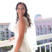Beautiful Bride Wearing Elegant Enzoani Bridal Gown at Palm Beach Shore in Palm Beach, FL thumbnail