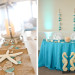 Elegant Centerpiece with Lantern, Starfish and Seaglass at Palm Beach Shore in Palm Beach, FL thumbnail