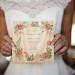 Elegant Wood Wedding Invitation at Anodyne Coffee in Milwaukee, WI thumbnail
