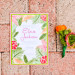 Elegant Lilly Pulitzer Inspired Palm Tree Wedding Invitation at The Colony Hotel in Palm Beach, FL thumbnail