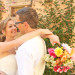 Stunning Bridal Portrait with Elegant Lilly Pulitzer Inspired Bridal Bouquet with Orange, Yellow and Pink Flowers at The Colony Hotel in Palm Beach, FL thumbnail
