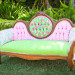 Elegant Lilly Pulitzer Couch with Vintage Lilly Pulitzer Fabric at The Colony Hotel in Palm Beach, FL thumbnail