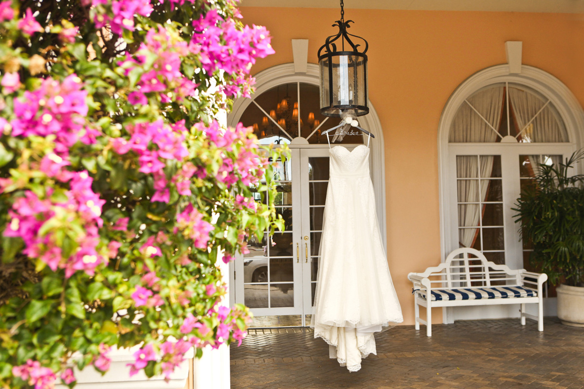 Elegant Bridal Gown | The Majestic Vision Wedding Planning | The Colony Hotel in Palm Beach, FL | www.themajesticvision.com | Krystal Zaskey Photography