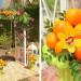 Elegant Lilly Pulitzer Inspired Wedding Ceremony with Palm Frawns, Oranges and Bougainvillea at The Colony Hotel in Palm Beach, FL thumbnail