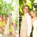 Elegant Bridal Party in Sunglow First Impression Lilly Pulitzer Dresses at The Colony Hotel in Palm Beach, FL thumbnail