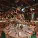 Elegant and Rustic Orange and Yellow Reception at Palm Beach Zoo in Palm Beach, FL thumbnail
