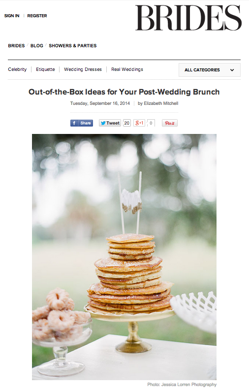 Out of the Box Ideas for Your Post-Wedding Brunch on Brides.com | The Majestic Vision Wedding Planning | Palm Beach, FL and Milwaukee, WI | www.themajesticvision.com