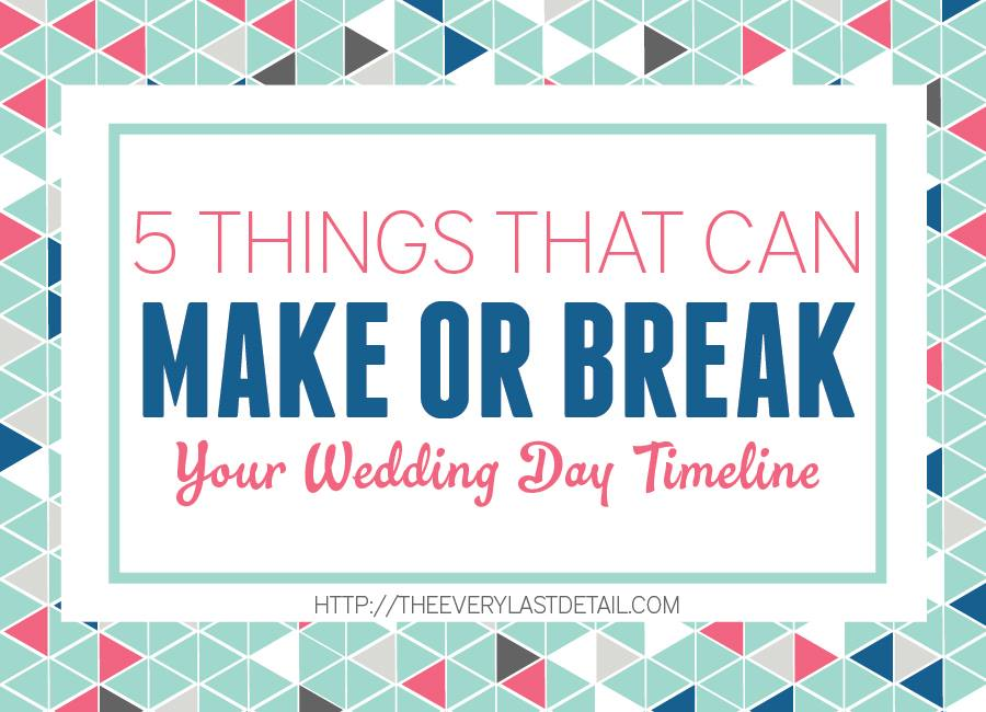 5 Things That Can Make or Break Your Wedding Day Timeline on Every Last Detail | The Majestic Vision Wedding Planning | Palm Beach, FL and Milwaukee, WI | www.themajesticvision.com