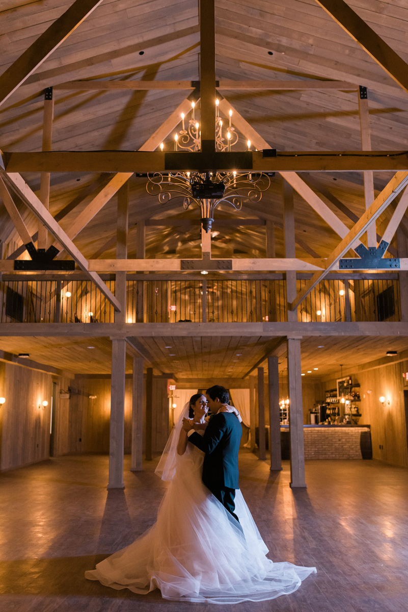 Elegant Barn Wedding First Dance | The Majestic Vision Wedding Planning | Rustic Manor in Milwaukee, WI | www.themajesticvision.com | Elizabeth Haase Photography