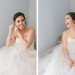 Elegant Bride in Stunning Blush Tara Keely Wedding Gown at Rustic Manor in Milwaukee, WI thumbnail